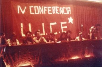 IV conf ujce, sentmenat presidencia color, guti, bravo, octubre 1976