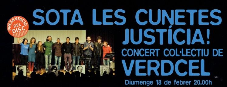 2018 concert sota les cunetes justicia19022018